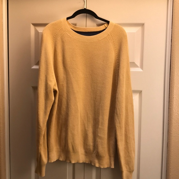 Tommy Hilfiger Other - Yellow Crewneck Sweater